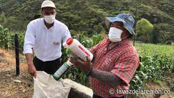 Jornada de devolución de envases y sobrantes de agroquímicos en Isnos - Huila