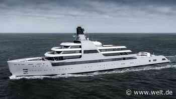 """Luxusschiff """"Solaris"""": Megayacht von Roman Abramowitsch ist vollendet - WELT"""