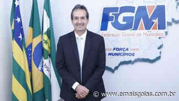 Haroldo Naves retorna à presidência da Federação Goiana de Municípios - Mais Goiás