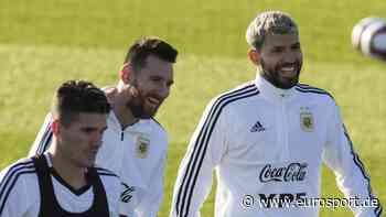 Sergio Agüero glaubt an Verbleib von Lionel Messi beim FC Barcelona - Eurosport DE