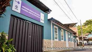 Obras UBS de distritos de Cachoeira do Brumado e Capinas são reformadas 31/05/2021 às - ® Portal da Cidade | Mariana