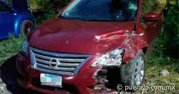 Ebrio provoca un aparatoso accidente en Tamazunchale - Pulso Diario de San Luis