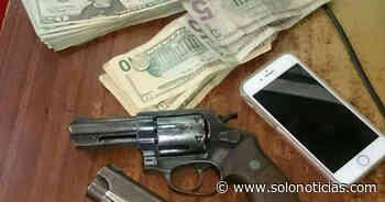 Capturado por participar en robo a mano armada en Cojutepeque - Solo Noticias