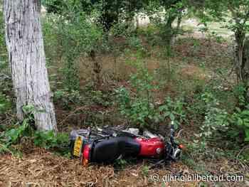 Se mató al chocar contra árbol en Sabanagrande - Diario La Libertad