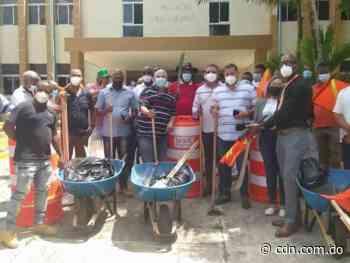 Autoridades realizan trabajos de embellecimiento en Samaná - CDN