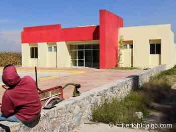 Incumple edil de Tlaxcoapan con equipamiento en Centro de Salud - Criterio Hidalgo