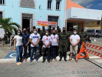 Tiro de Guerra participa de campanha de doação de sangue em Itapipoca (CE) #DoeSangue - Defesa - Agência de Notícias