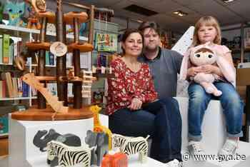 'Kind van Hout': speelgoedzaak gaat voor hout en kurk, en weert batterijen - Gazet van Antwerpen