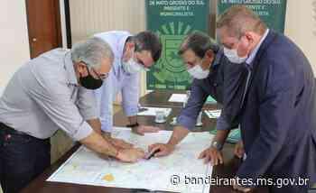 Governador Reinaldo Azambuja recebe demandas para infraestrutura de Bandeirantes - Bandeirantes – MS