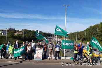 """Groen voert nieuwe actie tegen de verbreding van de Ring: """"Die moet beter, niet breder"""""""
