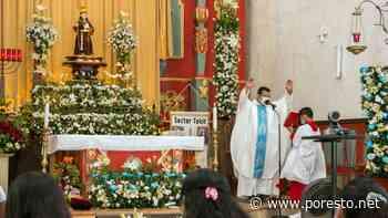 Gremio católico de Tekit celebra a San Antonio de Padua - PorEsto