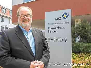 Ulrich Hartmann aus Kleinendorf ist neuer Fürsprecher am Krankenhaus Rahden: Für die Patienten in Rahden da - Rahden - Westfalen-Blatt