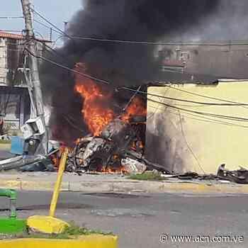 Dos personas mueren calcinadas en accidente de tránsito en Ciudad Ojeda - ACN ( Agencia Carabobeña de Noticias)