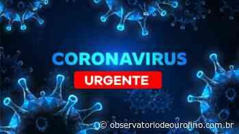 O município de Ouro Fino contabiliza mais dois óbitos por Covid-19 - Observatório de Ouro Fino