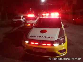Suspeito fica gravemente ferido após invadir empresa no Jardim Ouro Fino - Folha do Litoral News