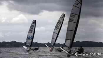 Segeln: Regattaauftakt auf dem Wittensee mit 24 Booten und einem Weltmeister | shz.de - shz.de