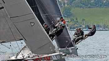 Segeln - Zwei Segelteams liefern sich ein erbittertes Duell auf dem Vierwaldstättersee - Luzerner Zeitung