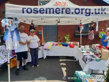 Rosemere funds boosted by visitors to Ribchester's May Market - The Visitor