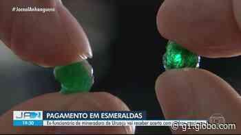 Ajudante de pedreiro receberá esmeraldas em acordo na Justiça do Trabalho, em Uruaçu - G1