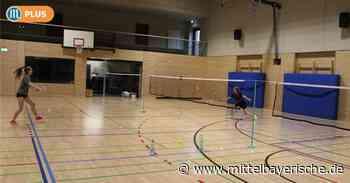 Badminton-Spieler warten auf Startschuss - Mittelbayerische