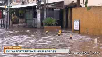 RJ: moradores de Duque de Caxias têm casas invadidas com água da chuva - Record TV