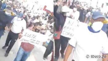 Jauja: ciudadanos marchan para rechazar la visita de Keiko Fujimori a esta ciudad - Libero.pe