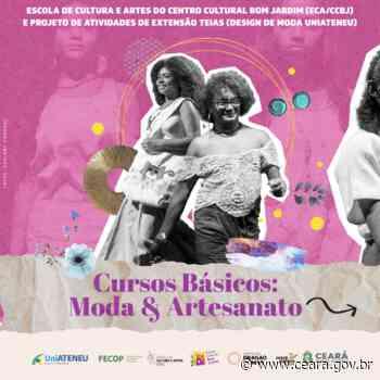 Centro Cultural Bom Jardim lança chamada de cursos básicos em parceria com a UniAteneu - Ceará
