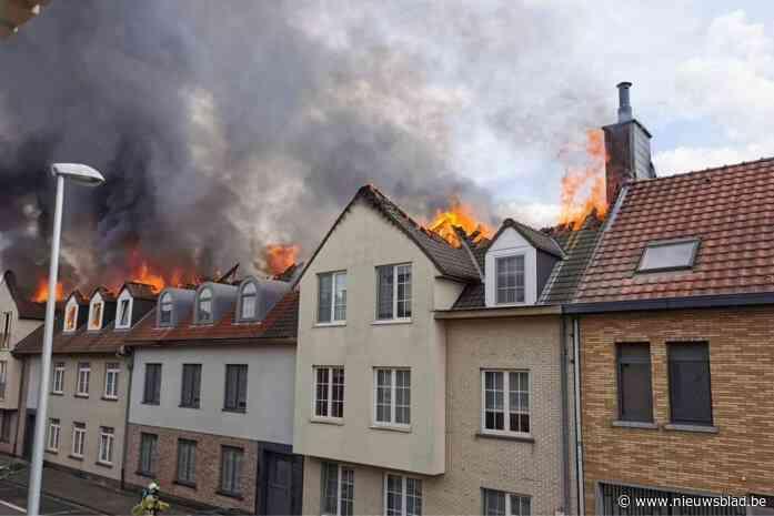 Oorzaak brand in Opwijk was technisch defect in niet-gecompartimenteerde zolderruimte