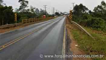 Vereadores de Forquilhinha querem mais segurança na ponte da Rodovia Gabriel Arns - Forquilhinha Notícias