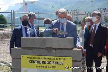 Pont-de-Claix : les travaux de construction du centre de sciences métropolitain ont débuté - Place Gre'net