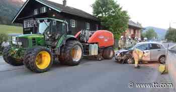 Betrunkener Autolenker kollidierte in Brixen im Thale mit Traktor - Tiroler Tageszeitung Online