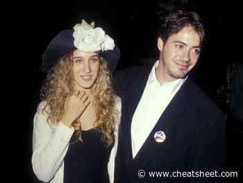 Sarah Jessica Parker Says Robert Downey Jr. Taught Her 'How to Love' - Showbiz Cheat Sheet