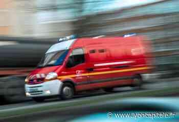 Près de Lyon : un camion se renverse à Tassin-la-Demi-Lune - LyonCapitale.fr