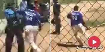 Ex-Baseball-Profi geht mit Schläger auf Schiri los – verhaftet! - Nau.ch