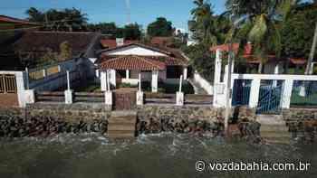 Maré causa estragos e comunidade da Ilha de Itaparica pede solução - Voz da Bahia