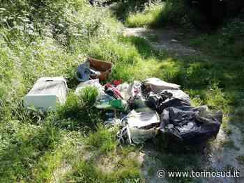 TROFARELLO - Boschi lungo la strada per Revigliasco pieni di rifiuti - TorinoSud