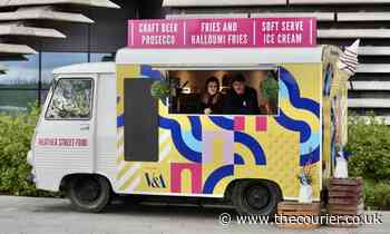 Dundee's Heather Street Food launches new food truck at waterfront serving halloumi fries - The Courier