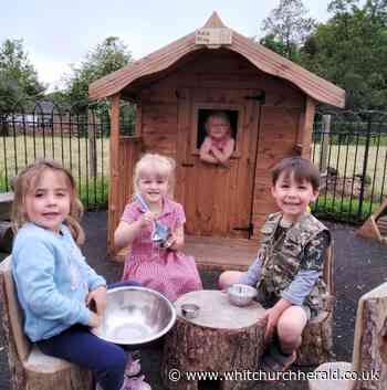 Welsh Government funds outdoor area for Hanmer playgroup - Whitchurch Herald