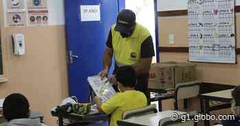 Prefeitura de Atibaia distribui álbuns de figurinhas na campanha Maio Amarelo - G1