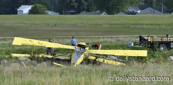 Crop dusting airplane crashed near Lakefield Airport. Photo Album - The Daily Standard