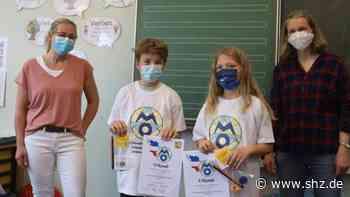 Erfolg für Grundschüler: Isabell und Bruno aus Medelby gewinnen die Landes-Mathematik-Olympiade   shz.de - shz.de