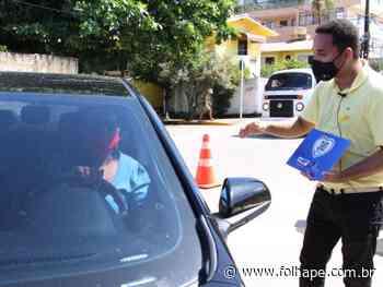 Ação orienta população de Ipojuca sobre moderação de velocidade nas vias - Folha de Pernambuco