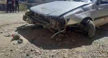 Huancavelica: Madre e hijo terminan malheridos tras brutal choque en vías de Yauli - Diario Correo