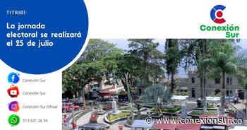 Gobernación expidió decreto que convoca a elecciones atípicas en Titiribí - ConexionSur