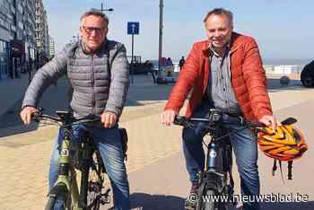 """Middelkerke verbiedt vier maanden lang fietsers op de zeedijk: """"Zo creëer je een hindernissenparcours"""" - Het Nieuwsblad"""