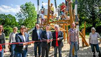 Stadt Voerde eröffnet neuen Spielplatz am Haus Voerde - NRZ