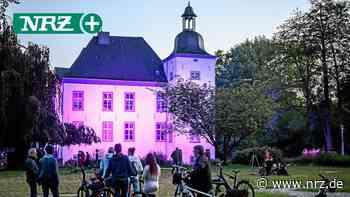 Haus Voerde leuchtet violett für Huntington-Erkrankte - NRZ
