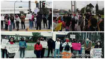 """Movilización de estudiantes de la UNAJ: """"Queremos nuestro título para trabajar en los hospitales y aportar en la pandemia"""" - La Izquierda Diario"""