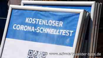 Schnelltest in Hechingen - Drive-In-Testzentrum eröffnet am Hofgut Domäne - Schwarzwälder Bote