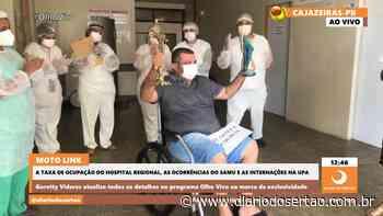 VÍDEO: Empresário sousense vence a Covid-19 e recebe alta em Cajazeiras sob lágrimas da família - Diário do Sertão